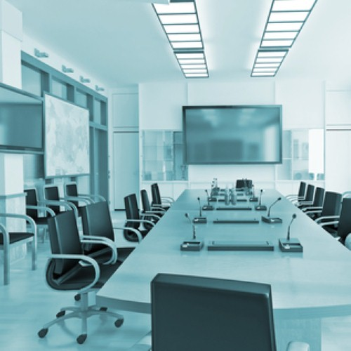 Multi-media AV solutions tranform standard conference rooms into highly collaborative environments.