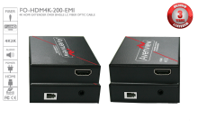 4K@30Hz HDMI 2.0 Extender over Single LC Fiber Optic Cable