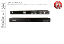 M-Series Receiver/Decoder (light version) - HDMI over IP with Matrix Only Support