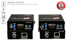 HDMI Extender SET over Single CAT5 with 3D, IR and RS232 Support