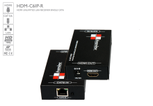 HDMI UNLIMITED LAN RECEIVER Over Single CAT6