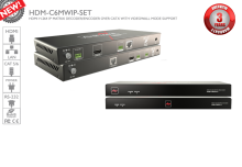 M-Series - HDMI over IP with Video Wall & Matrix Support