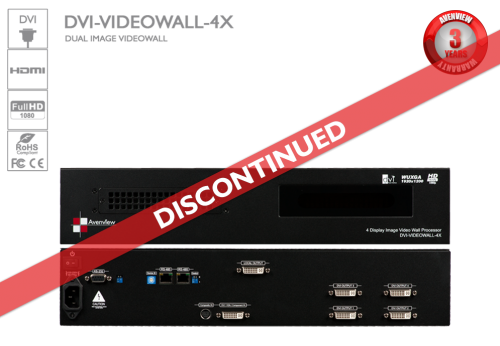 4 Display Dual Image Video Wall Cascadable (Discontinued)
