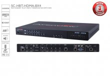 HDBaseT Multi Input Presentation switcher