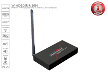 Wireless 5G HDMI Receiver With 1080p and IR Support - 50 meters