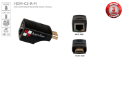 HDMI Mini Short Range Receiver Single CAT5/CAT6