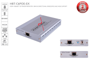 HDBaseT HDMI CAT5/6/7 Repeater with POE/LAN/RS-232/ Bi-directional IR 100m