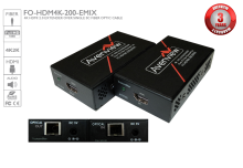 4K@60Hz HDMI 2.0 Extender over Single SC Fiber Optic Cable