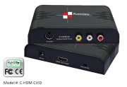 CVSB/ S-video/ HDMI to HDMI Scaler with 720p and 1080p Switching.