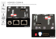HDMI Matrix Switch Receiver over Cat5 with IR Control Patch