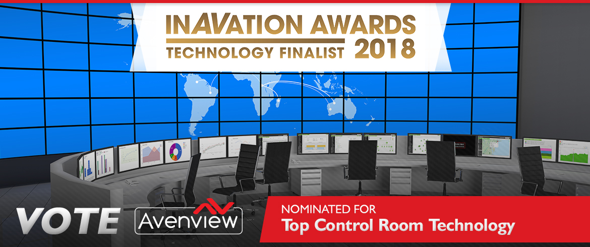 Vote Avenview - Technology for Control Rooms - inAVation Awards 2018